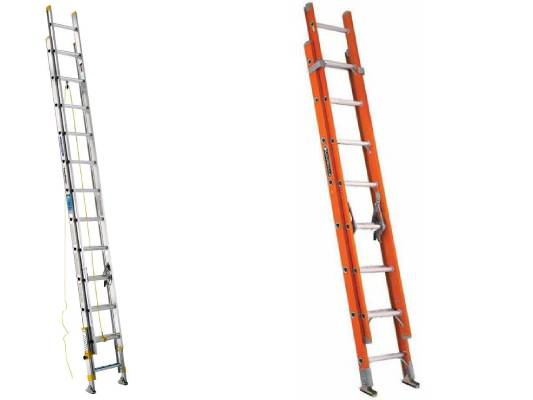 Werner 40 ft. Aluminum Extension Ladder with 250 lbs