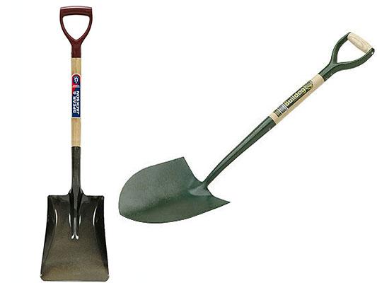 Contractors Shovel